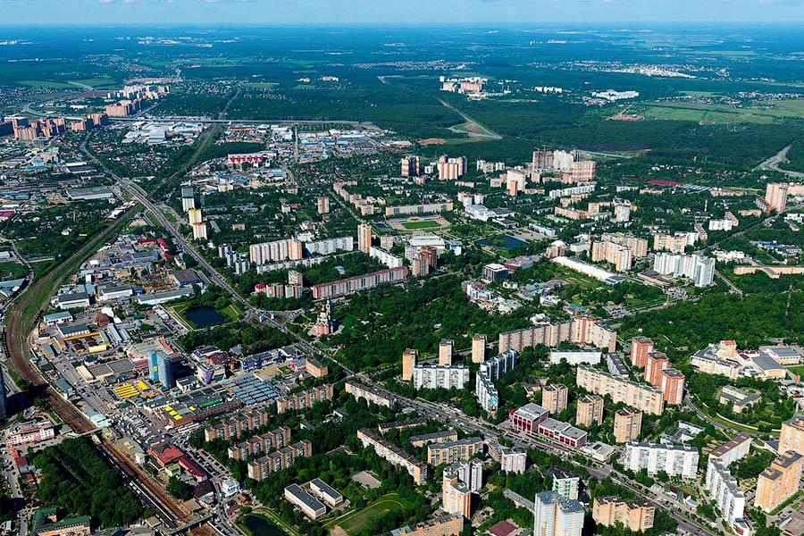 Звенигород и Одинцово объединены