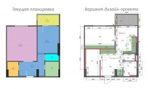 1к квартира, Восточный-3-6, этаж 3