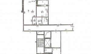 1к квартира, Пронина 2, этаж 6