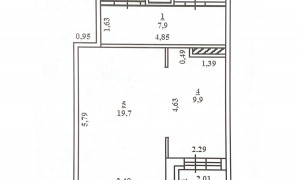 1к квартира, Радужная 18, этаж 11