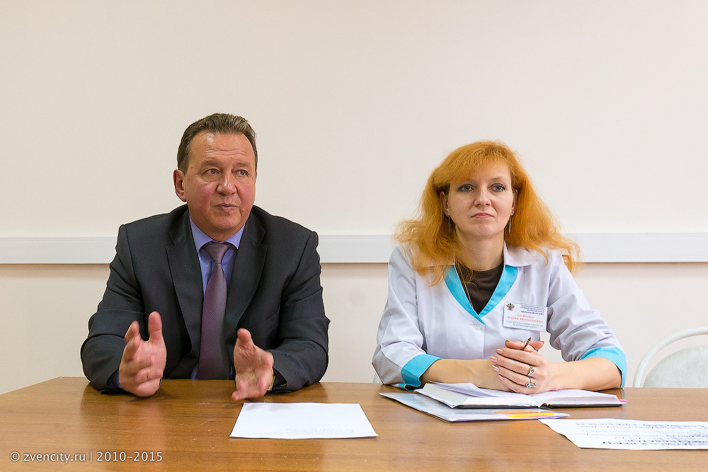 Очередная встреча главного врача Зенигородской ЦГБ с населением