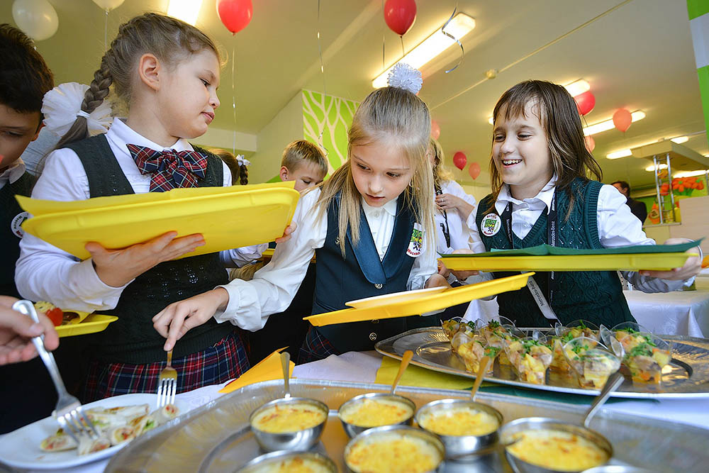 Бесплатное питание для школьников