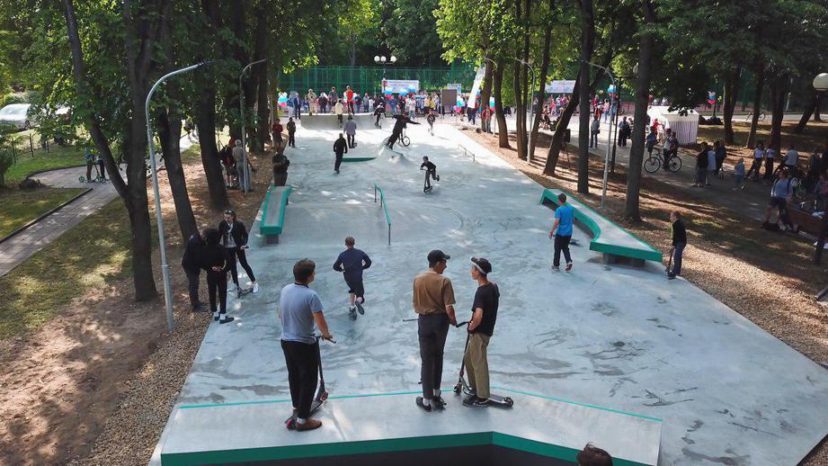 Новый скейт-парк открыли в Звенигороде