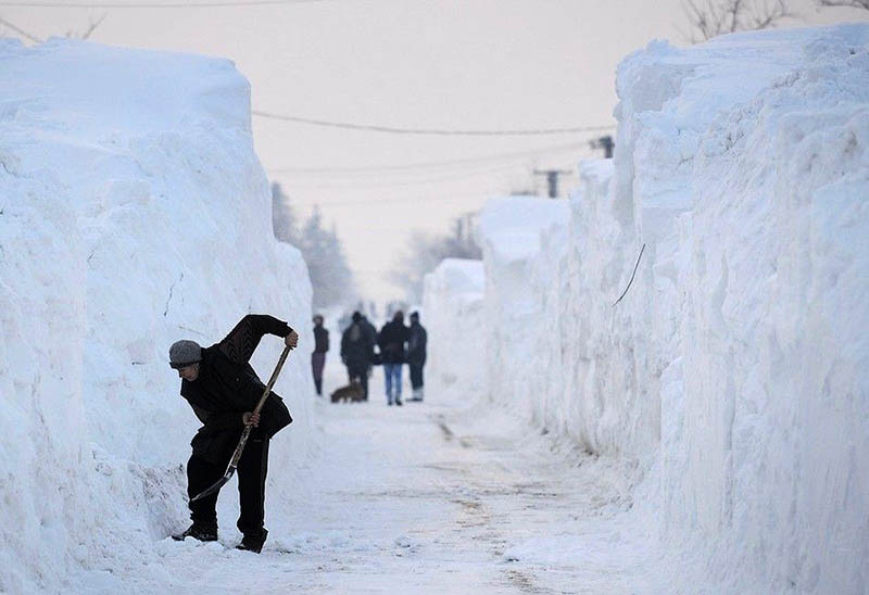 Звенигород завален снегом