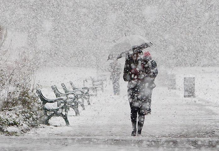 На уборку снега в Подмосковье брошены все ресурсы