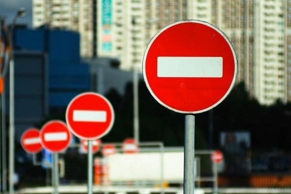 22 августа вводится полное ограничение движения автотранспорта по ул. Московская