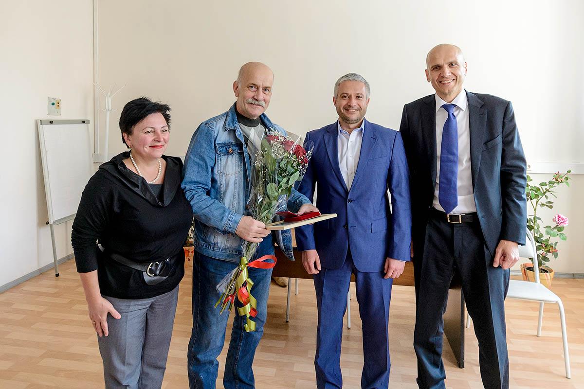 Судьин Василий Васильевич – почётный гражданин Звенигорода