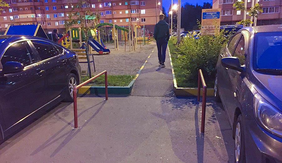 Защита тротуаров в Супонево – 2