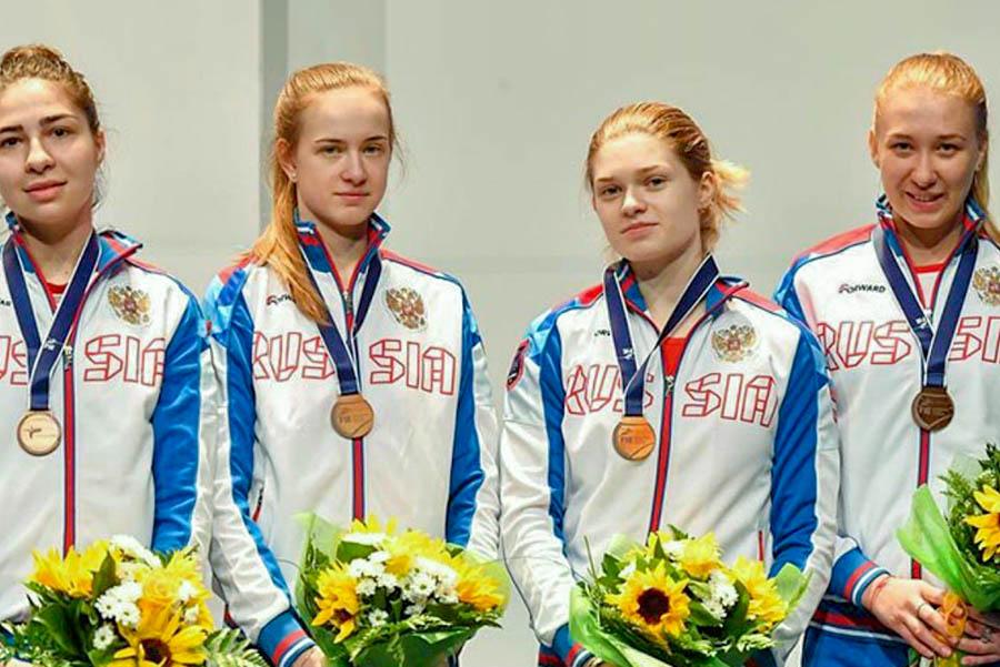 Анастасия Солдатова завоевала золотую медаль