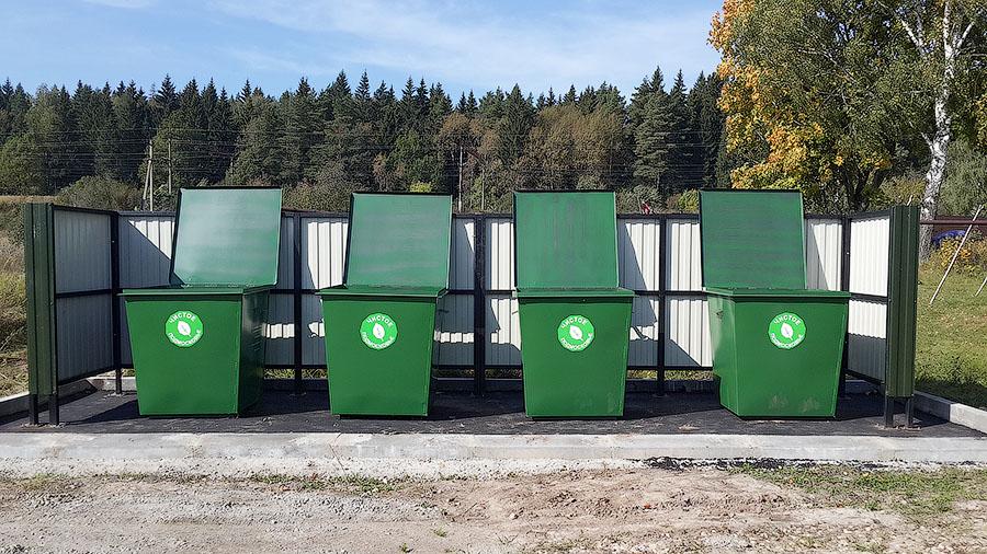 Составляем список контейнерных площадок для ТБО