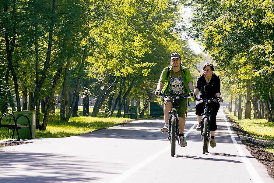 Новый облик – сеть велосипедных дорожек