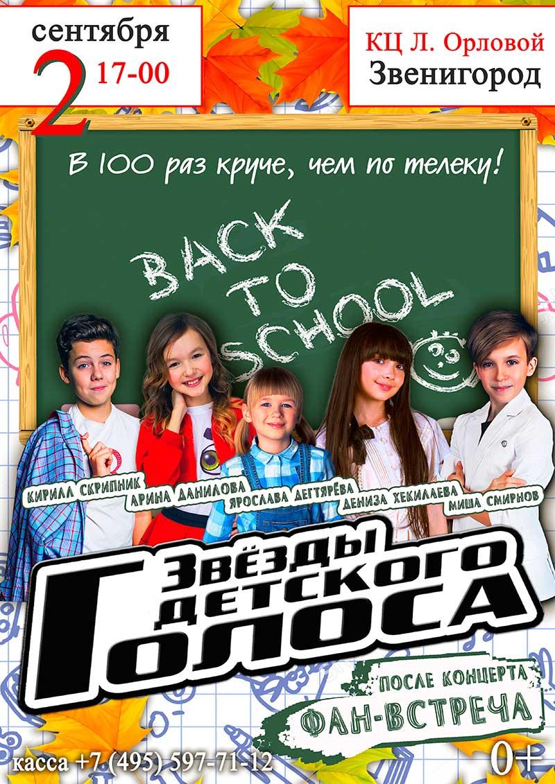 Вокальное шоу «Звезды Детского Голоса»