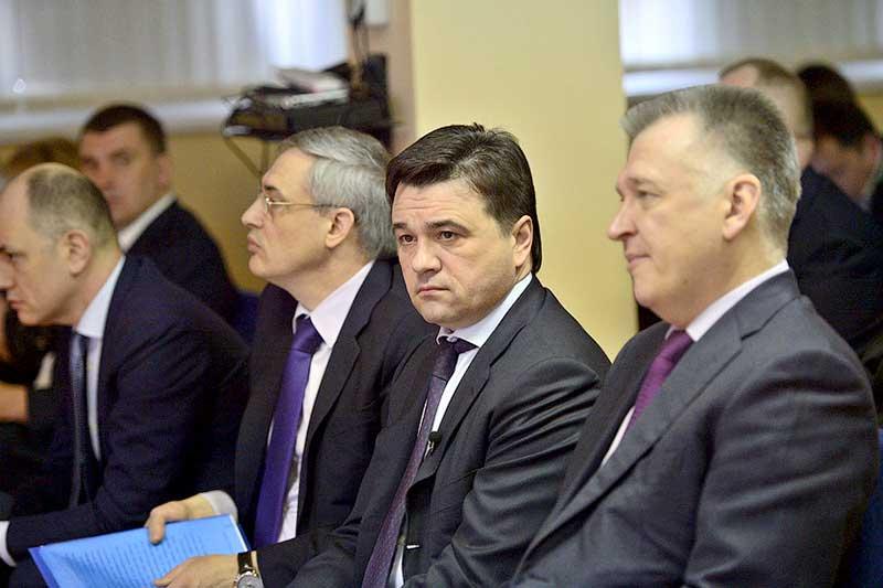 Андрей Воробьев увидел испытания «Системы 112» в Звенигороде