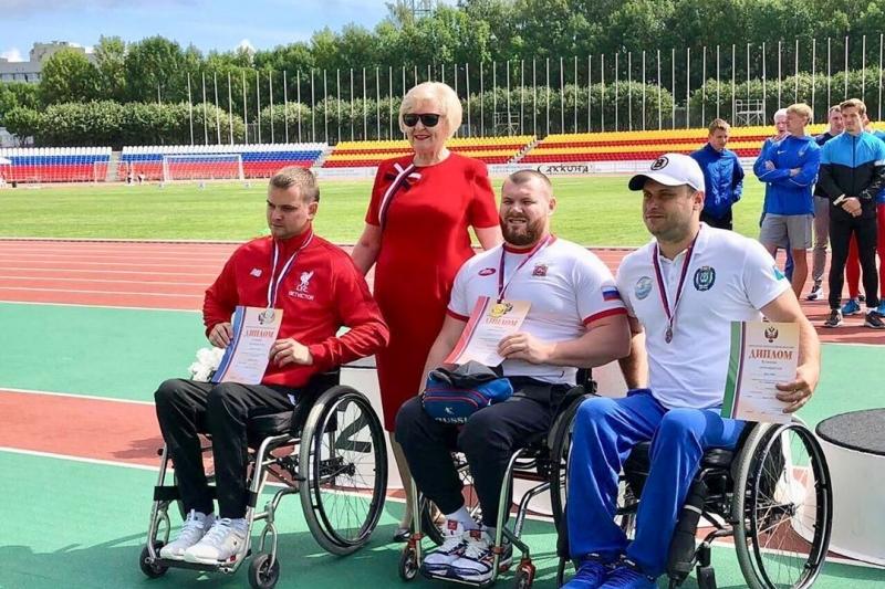 Спортсмен-колясочник из Звенигорода установил мировой рекорд